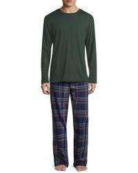 Original Penguin - Plaid Cotton Pajama Set - Lyst
