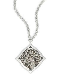 Lois Hill - Signature Cutout Pendant Necklace - Lyst