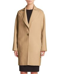 Carolina Herrera - Icon Collection Single-button Dress Coat - Lyst