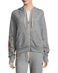 Wildfox - Rose Embroidery Jacket - Lyst