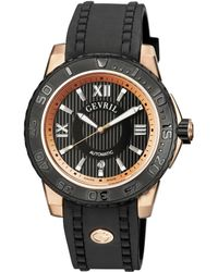 Gevril Watches - Seacloud Round Stainless Steel Watch, 44mm - Lyst
