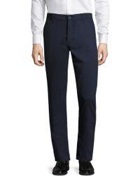 AG Green Label - Slim Khaki Trousers - Lyst