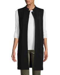 Plenty by Tracy Reese - Solid Pocket Vest - Lyst