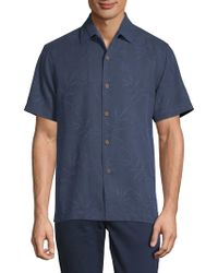 Tommy Bahama - Luau Floral Silk Button-down Shirt - Lyst