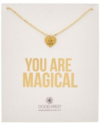 Dogeared - 14k Over Silver You Are Magical Forever Necklace - Lyst