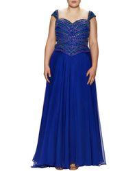 Mac Duggal - Macduggal Embellished Sweetheart Gown - Lyst