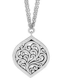 Lois Hill Silver Necklace