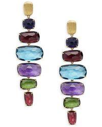 Marco Bicego - Murano Multi-stone & 18k Gold Earrings - Lyst