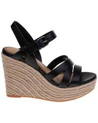 c163c4b7b7bc Splendid - Billie Leather Espadrille Wedge Sandals - Lyst