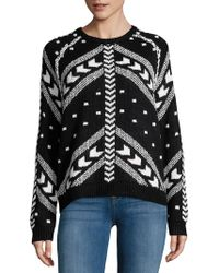 John + Jenn - Arrow Crewneck Sweater - Lyst