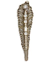 Heidi Daus - Faceted Crystal Pin - Lyst