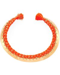 Aurelie Bidermann - Copacabana Necklace - Lyst