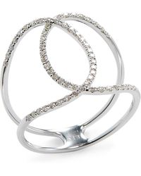 EF Collection - Diamond Infinity Ring - Lyst