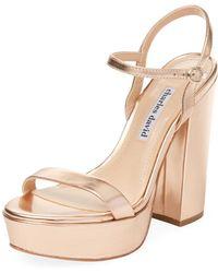 Charles David - Regal Leather Sandal - Lyst