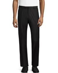 Isaia - Welt Back Dress Trousers - Lyst
