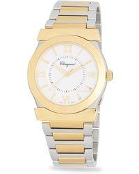 Ferragamo - Vega Gent Stainless Steel Bracelet Watch - Lyst