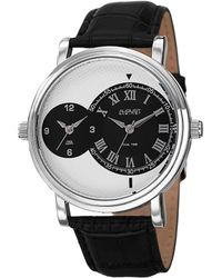 August Steiner - Men's Leather Watch - Lyst
