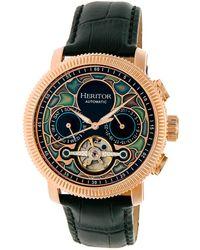 c1451c6ff Heritor - Men's Aura Watch - Lyst