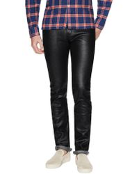 Naked & Famous - Skinny Guy Wax Coated Jeans - Lyst