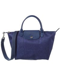 Longchamp - Le Pliage Neo Small Canvas Short Handle Tote - Lyst