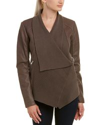 Tahari - T Dylan Leather Jacket - Lyst