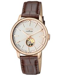 Gevril Watches - Mulberry Open Heart Automatic Watch, 41mm - Lyst