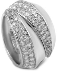 Cartier - Cartier 18k 1.60 Ct. Tw. Diamond Arc Ring With Original Box - Lyst
