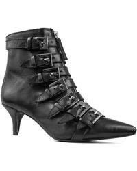 Archive Shoes - Wooster Leather Bootie - Lyst