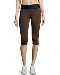 Olympia - Kore Neo Cropped Leggings - Lyst