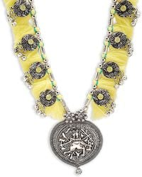 Cara - Al Medallion Necklace - Lyst
