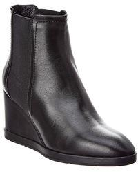 Aquatalia - Jaelynn Waterproof Leather Bootie - Lyst