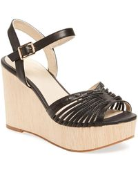 Seychelles - Mind Leather Wedge - Lyst