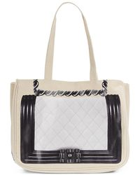 Thursday Friday - Uptown Together Cotton Canvas Tote Bag - Lyst