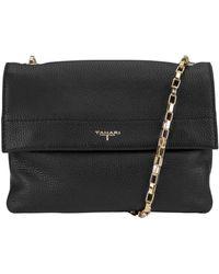 T Tahari - Claire Crossbody Leather Flap Bag - Lyst