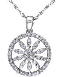 Rina Limor - Fine Jewelery 14k 0.49 Ct. Tw. Diamond Necklace - Lyst