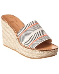 52013f65b97 Dolce Vita Barkley Cork Wedge Sandal - Lyst
