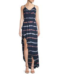 Young Fabulous & Broke - Paradise Striped Hi-lo Dress - Lyst