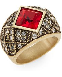 Heidi Daus - Tailored Brilliance Swarovski Crystal Ring - Lyst