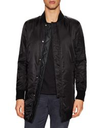 Rogue State - Nylon Tall Bomber Jacket - Lyst