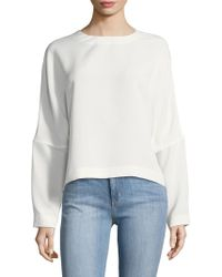 Jincy Embroidered Voile Top Iro Classic Online Outlet Real New Styles Cheap Price Footlocker Online Cheap Classic a58wJdX