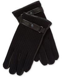 John Varvatos - Knit With Touch Tech Gloves - Lyst