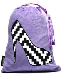 Melissa Beth - Lilac She She Shoe Bag - Lyst