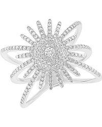 Diana M. Jewels - . Fine Jewelry 14k 0.58 Ct. Tw. Diamond Celestial Ring - Lyst