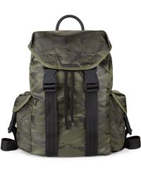 Kendall + Kylie - Large Jordyn Camo Nylon Backpack - Lyst