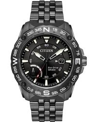 Citizen - Men's Stainless Steel Watch - Lyst