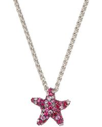Effy - Sterling Silver Ruby & Pink Sapphire Pendant Necklace - Lyst