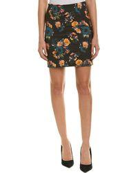 Nicole Miller - Artelier Mini Skirt - Lyst
