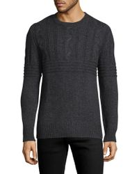 Slate & Stone - Ribbed Cableknit Sweater - Lyst