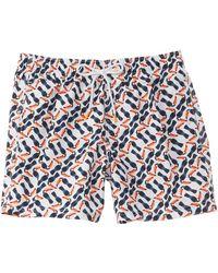 97dc74438e Vilebrequin Moorea Hibiscus And Toucan-Print Swim Shorts - For Men ...