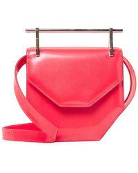 M2malletier - Amor Fati Mini Leather Shoulder Bag - Lyst